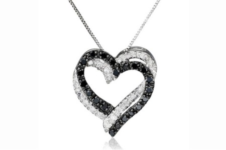 Black Diamond Pendant Necklaces