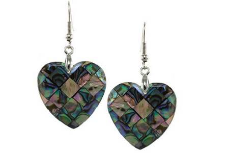 Fabulous Abalone Shell Earrings
