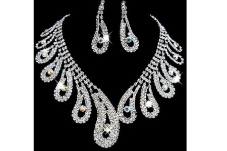 Rhinestone Jewelry Sets and Bridal Jewelry