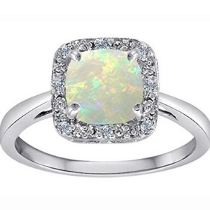 Genuine Opal Ring
