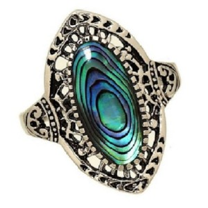 Abalone Shell Rings