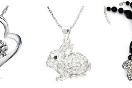 Rhinestone Necklaces and Pendants