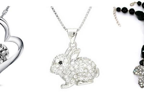 Rhinestone Necklaces and Pendants