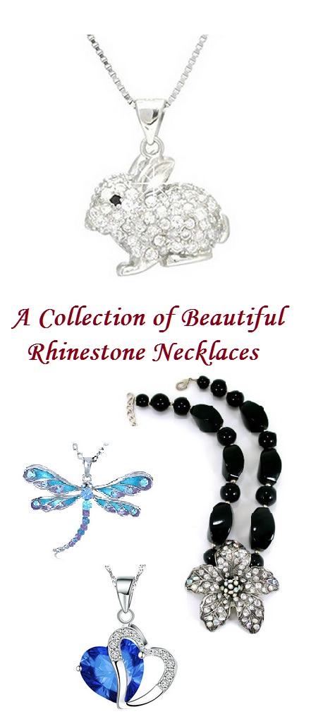 Rhinestone Necklace & Pendants