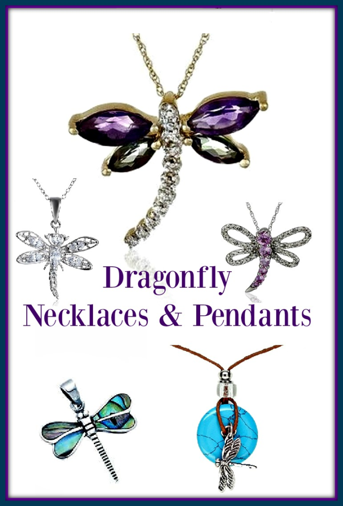 Dragonfly Pendants & Necklaces
