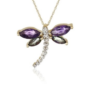 Beautiful Dragonfly Necklaces Pendants Victoria Fredericks