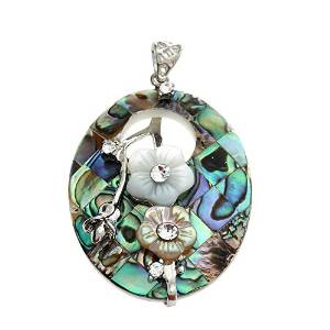 abalone shell pendants and necklaces
