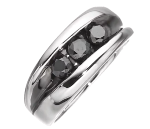 Black Diamond Rings for men