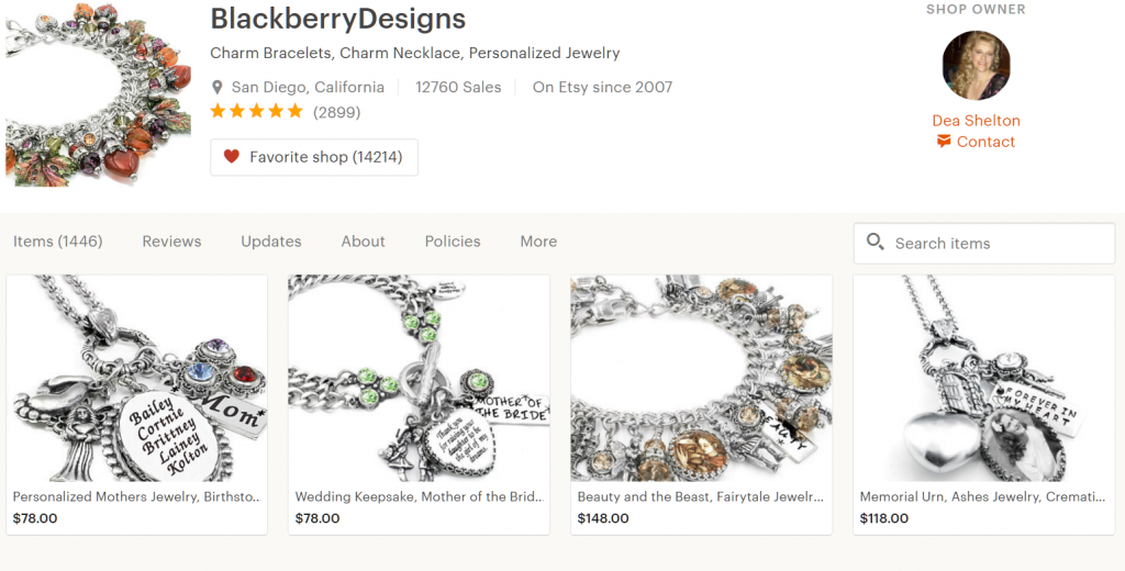 Blackberry Designs Store on Etsy