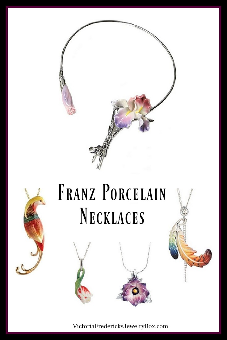 Franz Porcelain Necklaces