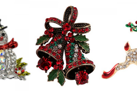 Beautiful Christmas Brooches
